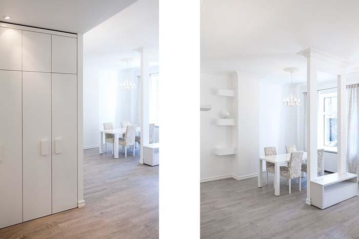 koridor ja elutuba
